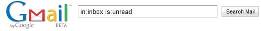 Mensajes no leídos en Gmail