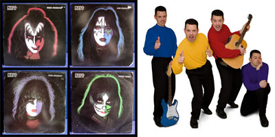 KISS meets the Wiggles